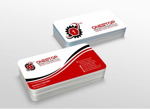 Onestop Equipment Co. Ltd. Business Cards and Stationery  Draft # 117 by xtremecreative3