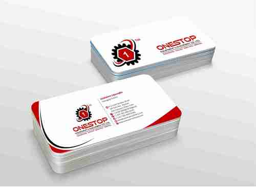 Onestop Equipment Co. Ltd. Business Cards and Stationery  Draft # 119 by xtremecreative3