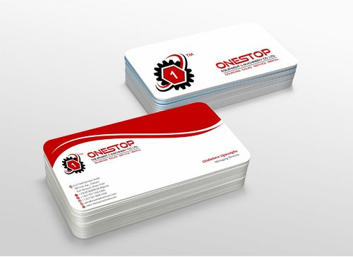 Onestop Equipment Co. Ltd. Business Cards and Stationery  Draft # 118 by xtremecreative3