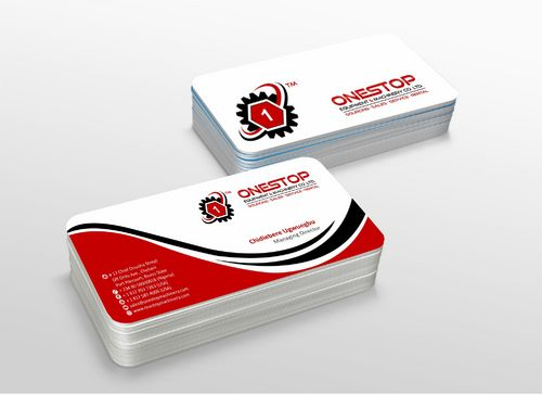 Onestop Equipment Co. Ltd. Business Cards and Stationery  Draft # 120 by xtremecreative3