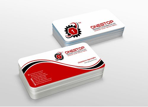 Onestop Equipment Co. Ltd. Business Cards and Stationery  Draft # 121 by xtremecreative3
