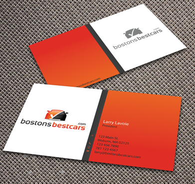 bostonsbestcars.com Business Cards and Stationery  Draft # 351 by jpgart92