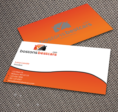 bostonsbestcars.com Business Cards and Stationery  Draft # 352 by jpgart92