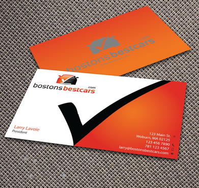 bostonsbestcars.com Business Cards and Stationery  Draft # 353 by jpgart92