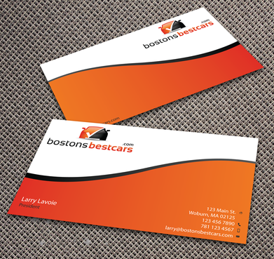 bostonsbestcars.com Business Cards and Stationery  Draft # 354 by jpgart92