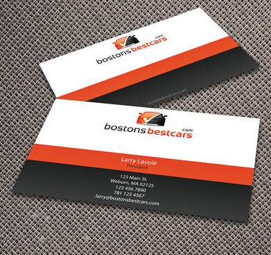 bostonsbestcars.com Business Cards and Stationery  Draft # 355 by jpgart92