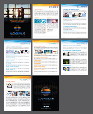 CAMBIO 8 Consultancy and freelance services  Marketing collateral  Draft # 26 by Achiver