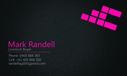 Randell Ag Business Cards and Stationery  Draft # 9 by shozabhasan959