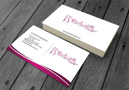 Beverly hills cosmetic surgical group and dr's name is fardad forouzanpour Business Cards and Stationery  Draft # 152 by jpgart92