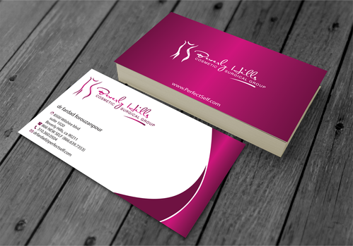 Beverly hills cosmetic surgical group and dr's name is fardad forouzanpour Business Cards and Stationery  Draft # 153 by jpgart92