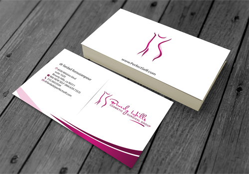 Beverly hills cosmetic surgical group and dr's name is fardad forouzanpour Business Cards and Stationery  Draft # 154 by jpgart92