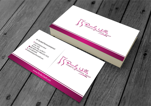 Beverly hills cosmetic surgical group and dr's name is fardad forouzanpour Business Cards and Stationery  Draft # 155 by jpgart92