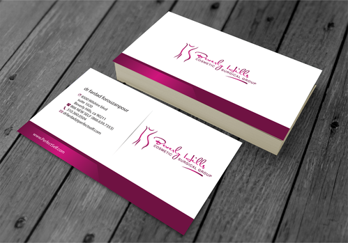 Beverly hills cosmetic surgical group and dr's name is fardad forouzanpour Business Cards and Stationery  Draft # 157 by jpgart92