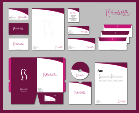 Beverly hills cosmetic surgical group and dr's name is fardad forouzanpour Business Cards and Stationery  Draft # 182 by jpgart92