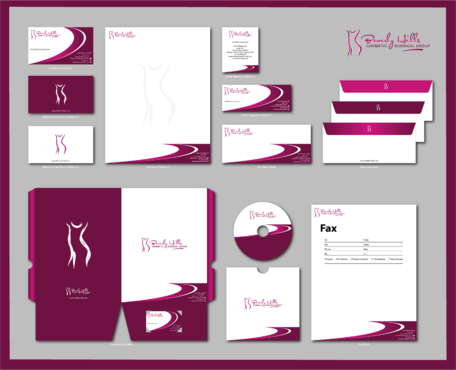 Beverly hills cosmetic surgical group and dr's name is fardad forouzanpour Business Cards and Stationery  Draft # 185 by jpgart92