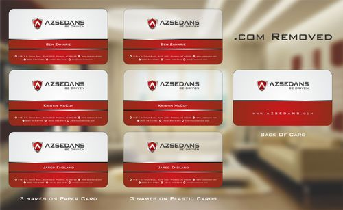 AZ Sedans Discount Card Business Cards and Stationery  Draft # 129 by Deck86