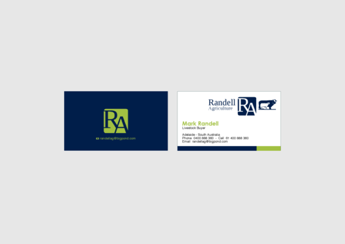 Randell Ag Business Cards and Stationery  Draft # 26 by KenArrok