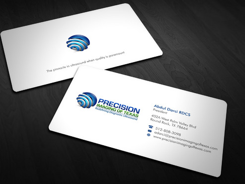 Redefining Diagnostic Ultrasound Business Cards and Stationery  Draft # 1 by Xpert