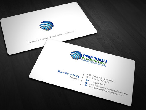 Redefining Diagnostic Ultrasound Business Cards and Stationery  Draft # 2 by Xpert