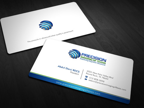 Redefining Diagnostic Ultrasound Business Cards and Stationery  Draft # 3 by Xpert