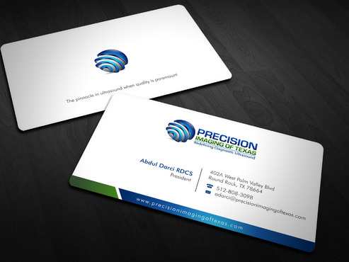 Redefining Diagnostic Ultrasound Business Cards and Stationery  Draft # 5 by Xpert