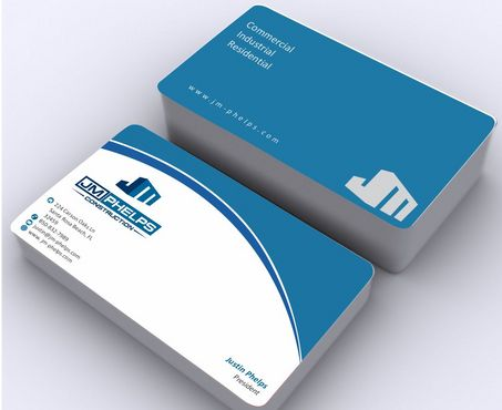 JM Phelps Construction Business Cards and Stationery  Draft # 174 by Deck86