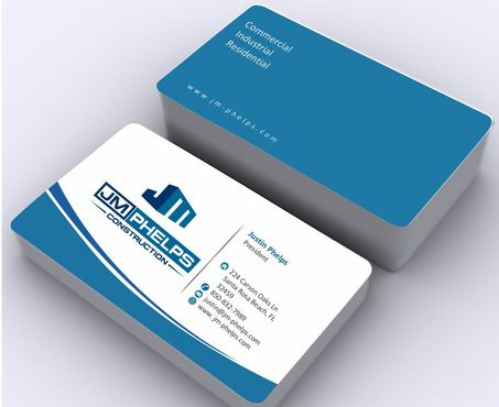 JM Phelps Construction Business Cards and Stationery  Draft # 173 by Deck86