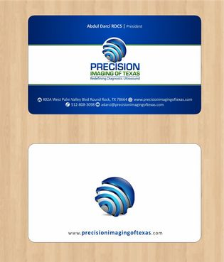 Redefining Diagnostic Ultrasound Business Cards and Stationery  Draft # 135 by Deck86