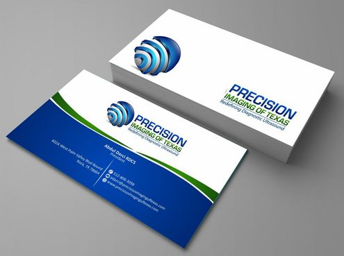 Redefining Diagnostic Ultrasound Business Cards and Stationery  Draft # 143 by Deck86