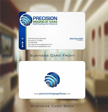 Redefining Diagnostic Ultrasound Business Cards and Stationery  Draft # 150 by Deck86