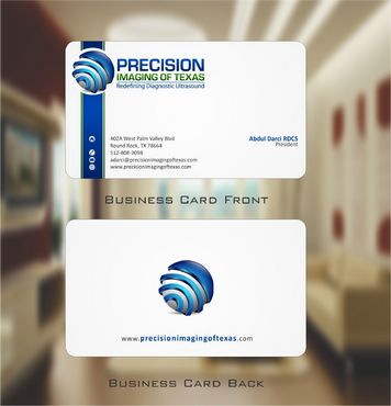 Redefining Diagnostic Ultrasound Business Cards and Stationery  Draft # 151 by Deck86