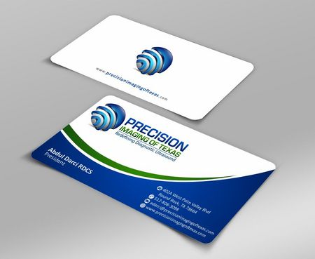 Redefining Diagnostic Ultrasound Business Cards and Stationery  Draft # 154 by Deck86