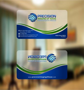 Redefining Diagnostic Ultrasound Business Cards and Stationery  Draft # 165 by Deck86