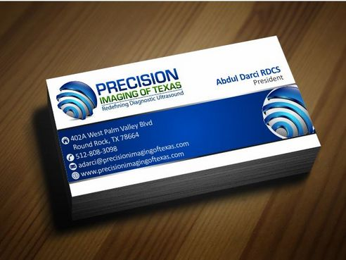 Redefining Diagnostic Ultrasound Business Cards and Stationery  Draft # 170 by Deck86