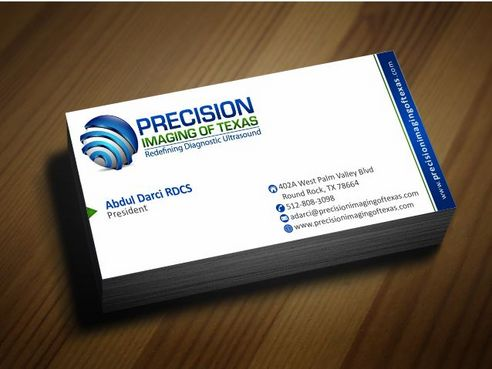 Redefining Diagnostic Ultrasound Business Cards and Stationery  Draft # 172 by Deck86