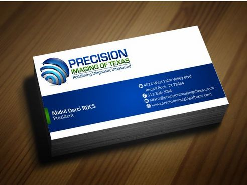 Redefining Diagnostic Ultrasound Business Cards and Stationery  Draft # 173 by Deck86