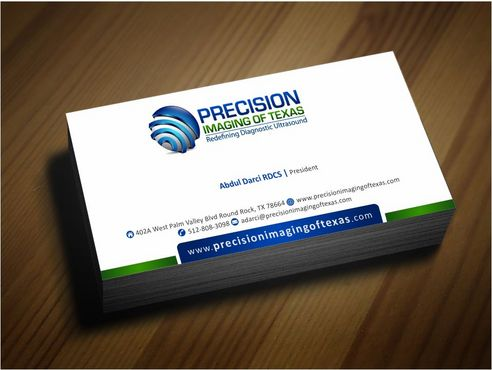 Redefining Diagnostic Ultrasound Business Cards and Stationery  Draft # 174 by Deck86
