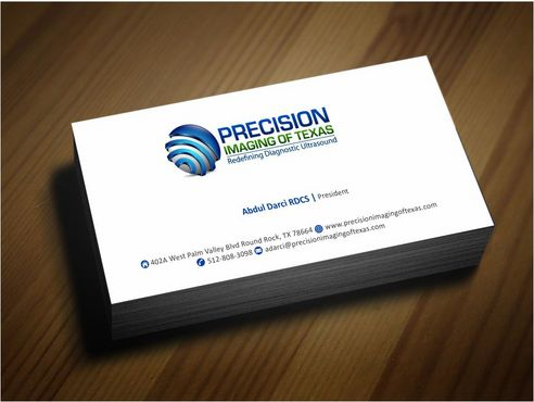 Redefining Diagnostic Ultrasound Business Cards and Stationery  Draft # 175 by Deck86