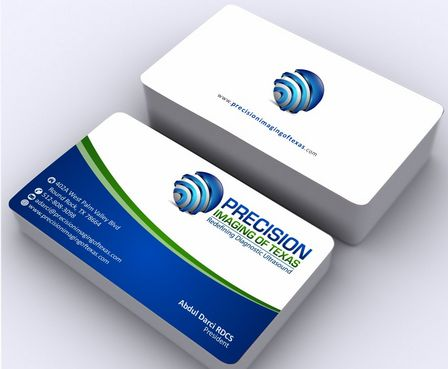 Redefining Diagnostic Ultrasound Business Cards and Stationery  Draft # 178 by Deck86