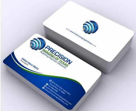 Redefining Diagnostic Ultrasound Business Cards and Stationery  Draft # 180 by Deck86