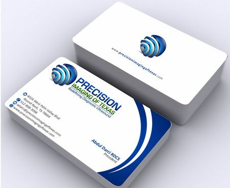 Redefining Diagnostic Ultrasound Business Cards and Stationery  Draft # 181 by Deck86