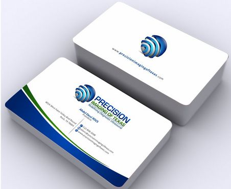 Redefining Diagnostic Ultrasound Business Cards and Stationery  Draft # 182 by Deck86
