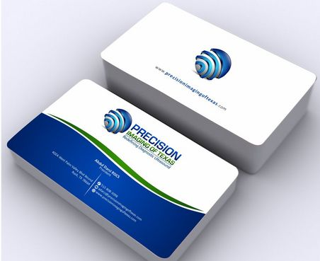 Redefining Diagnostic Ultrasound Business Cards and Stationery  Draft # 183 by Deck86
