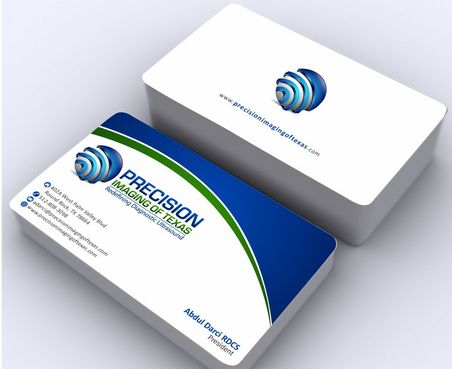 Redefining Diagnostic Ultrasound Business Cards and Stationery  Draft # 184 by Deck86