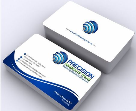 Redefining Diagnostic Ultrasound Business Cards and Stationery  Draft # 186 by Deck86