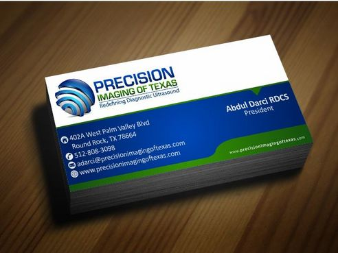 Redefining Diagnostic Ultrasound Business Cards and Stationery  Draft # 189 by Deck86