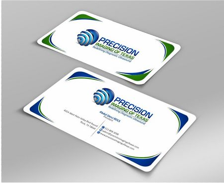 Redefining Diagnostic Ultrasound Business Cards and Stationery  Draft # 191 by Deck86