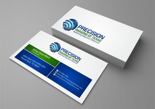 Redefining Diagnostic Ultrasound Business Cards and Stationery  Draft # 195 by Deck86