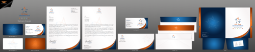 All Star Orthodontics Business Cards and Stationery  Draft # 309 by einsanimation