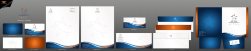 All Star Orthodontics Business Cards and Stationery  Draft # 315 by einsanimation